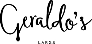 Our new look brand for Geraldo's of Largs
