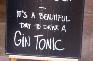 Have a G & T!
