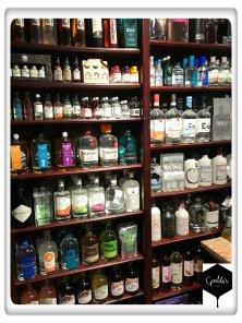 Geraldo's gin selection 3